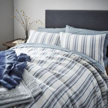 Gray & Willow Tallinn stripe bed linen range