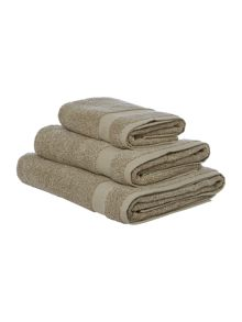 Gray & Willow Stone marl bath towel range