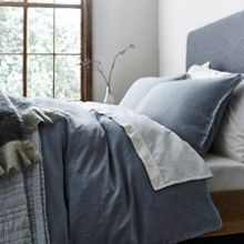 Gray & Willow Oslo slub bed linen range