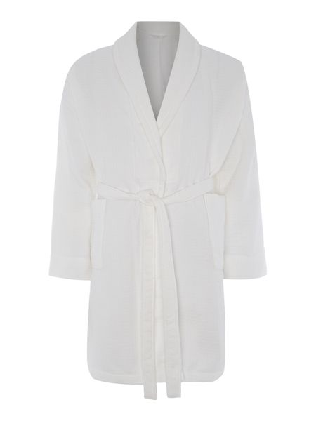 Luxury Hotel Collection Waffle robe white s/m