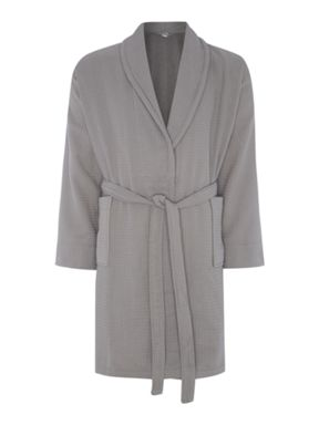 Luxury Hotel Collection Waffle robe range in charcoal