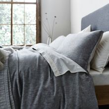 Gray & Willow Kalmar grey twill bed linen range