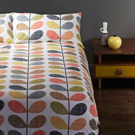 Orla Kiely Multi Stem single duvet cover