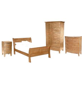 Linea Lyon light bedroom furniture range