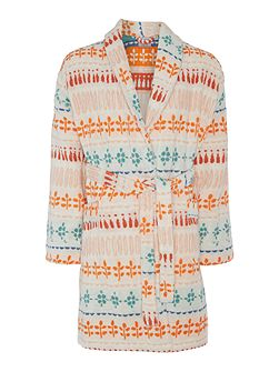 Dickins jacquard robe s/m