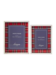 Linea Tartan Photo Frame Range