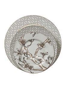 Living by Christiane Lemieux Chinese blossom dinner plate