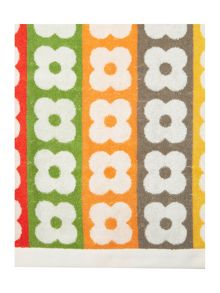 Orla Kiely Multi flower stem bath towel range