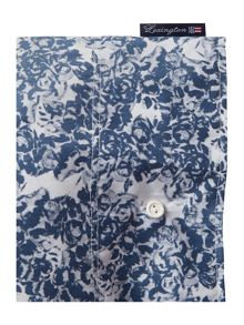 Lexington Printed Sateen bed linen range in Blue