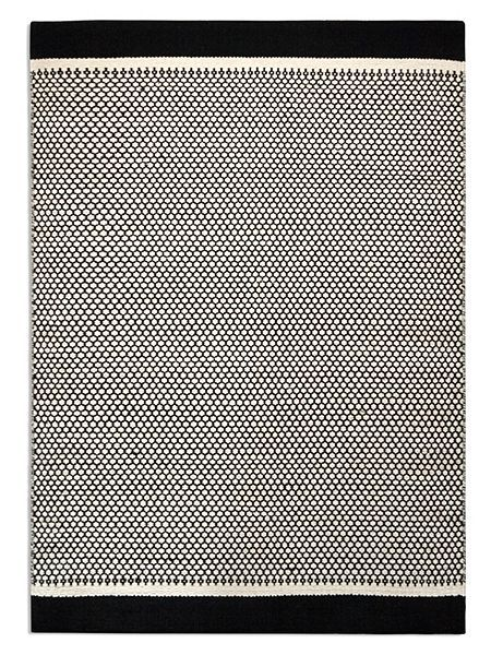 Plantation Rug Co. Belle 100% Wool Flatweave Rug 120x170 Monochrome