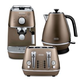 Delonghi Distinta Bronze Range