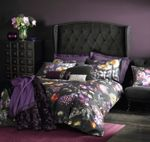 Shadow floral bedding range