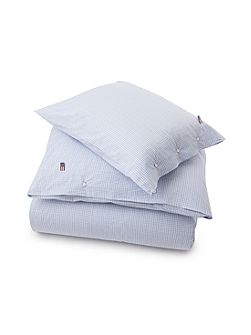 Authentic Checked Poplin Square Pillowcase