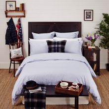 Lexington Authentic checked poplin bedding