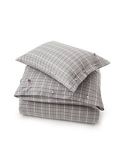 Herringbone Checked Super King Duvet Cover