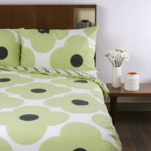 Giant Spot Flower Pistachio Pillowcase Pair