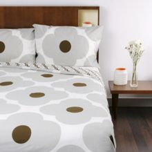 Orla Kiely Giant spot flower concrete bed linen