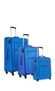 Aeon blue luggage sets
