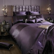Lorenta amethyst housewife pillowcase