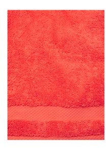 Linea Soft feel egyptian cotton range in coral