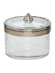 Shabby Chic Glass Trinket Box Range