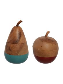 Dickins & Jones Wooden Fruit Range