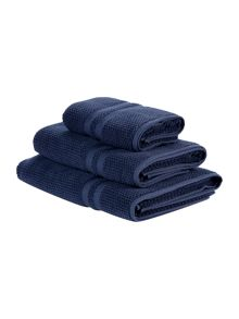 Gray & Willow Towel range in blue