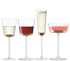 LSA Edge Glassware Collection