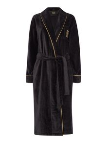Biba Logo bathrobe range in black