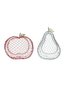 Dickins & Jones Fruit Wire Basket Range