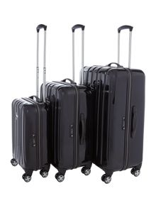 Movelite Black Hard Luggage Set