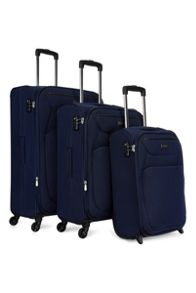Antler Savannah navy soft luggage set