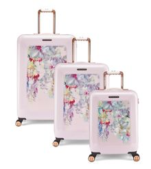 Hanging gardens 8 Wheel Hard Luggage Set