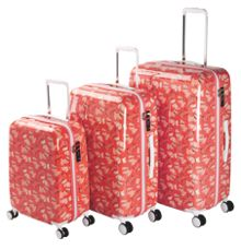 Fleet Street orange luggage set
