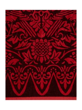 Living by Christiane Lemieux Sunbird jacquard towel range in orange