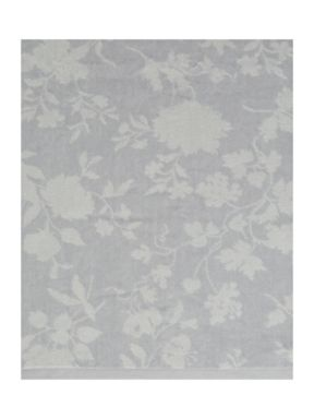Shabby Chic Antique rose towel range in grey