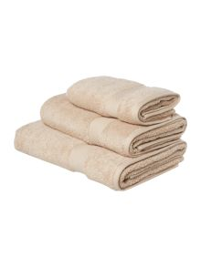 Luxury Hotel Collection Zero twist towel range in mushroom