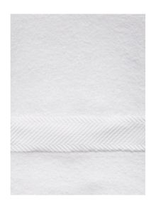 Luxury Hotel Collection Hotel Collection zero twist towel white