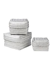 Shabby Chic Metallic Tub Range