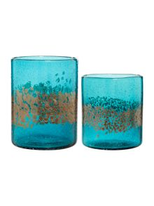 Biba Aquamarine Speckled Hurricane Range