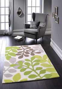 Origin Rugs Green Arden Rug Range