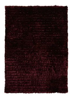 Purple Carved Glamour Rug 80/150
