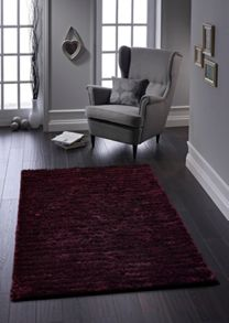 Origin Rugs Purple Carved Glamour Rug Range