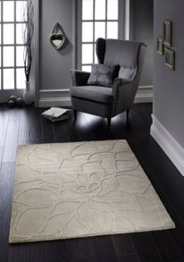 Origin Rugs Natural Chrysanthemum Rug Range