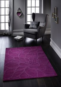 Origin Rugs Purple Chrysanthemum Rug Range
