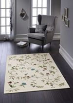 Origin Rugs Cream Harewood Rug 80 X 150
