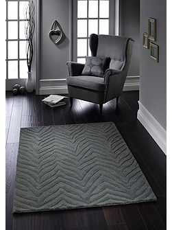 Origin Rugs Charcoal Kaleesi Rug 80/150