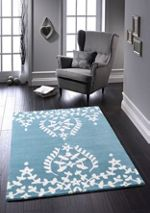 Origin Rugs Duck Egg Memory Lace Rug 60/120