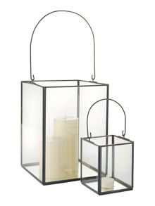 Linea Grey Finish Lantern Range