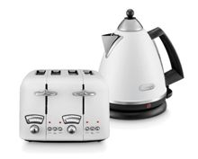 Delonghi Argento White Kitchen Electrical Range